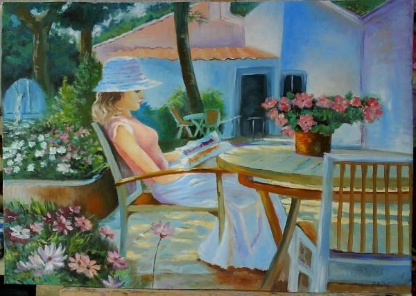 Picturi cu potrete/nuduri Lady