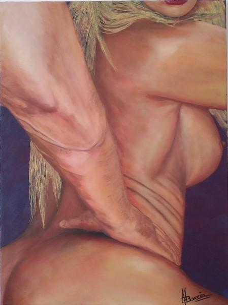 Picturi cu potrete/nuduri Barbeque...