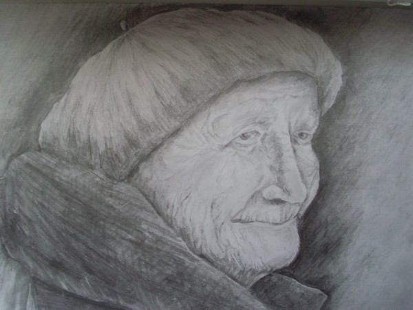 Picturi cu potrete/nuduri Bunicuta