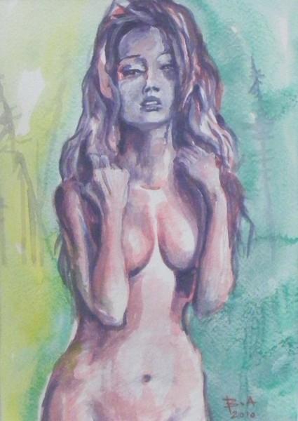 Picturi cu potrete/nuduri Nud7