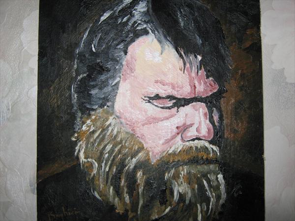 Picturi cu potrete/nuduri Old man