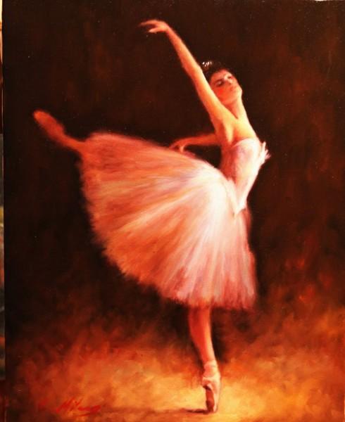 Picturi cu potrete/nuduri Balerina 11