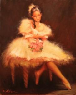 Picturi cu potrete/nuduri Balerina 22