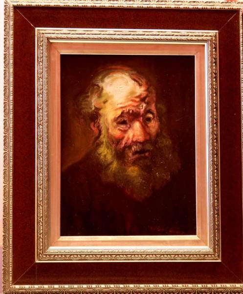 Picturi cu potrete/nuduri Portret de batran 03