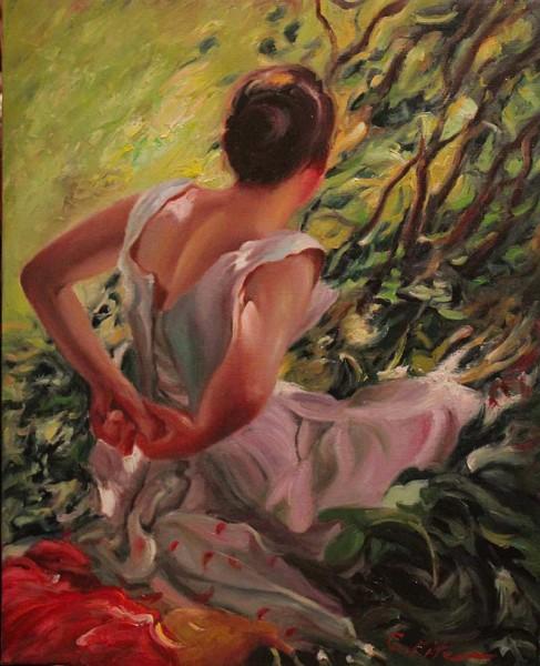 Picturi cu potrete/nuduri Scena gen 67