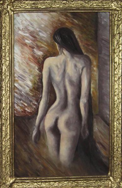 Picturi cu potrete/nuduri Am vazut-o pe o strada...