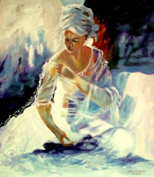 Picturi cu potrete/nuduri My love