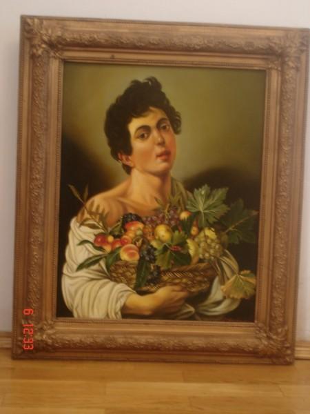 Picturi cu potrete/nuduri Tablou reproducere caravaggio5