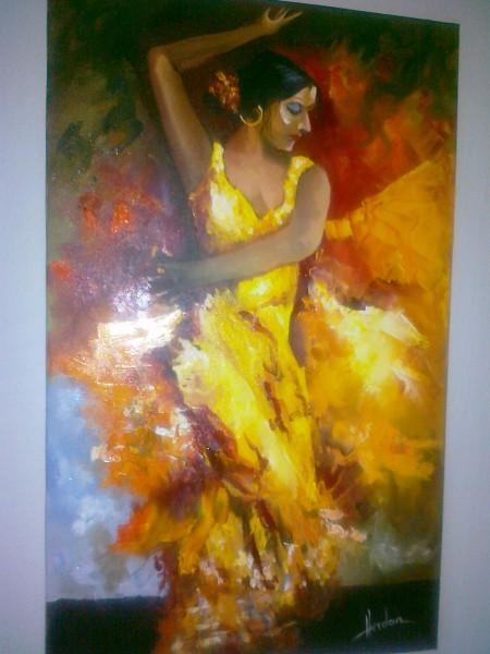 Picturi cu potrete/nuduri Ritm spaniol