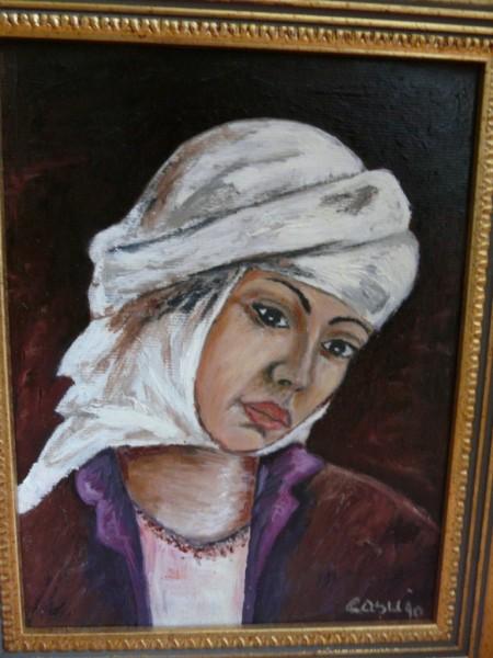 Picturi cu potrete/nuduri Tanara araboaica