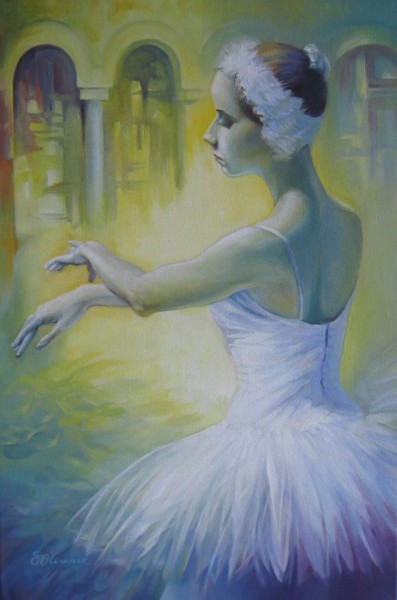Picturi cu potrete/nuduri Dansul lebedei