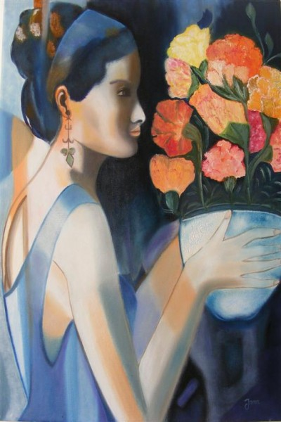 Picturi cu potrete/nuduri Buchetul lui dolores