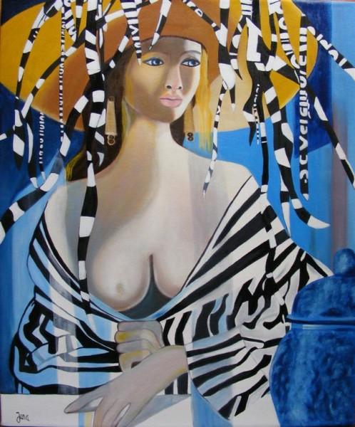 Picturi cu potrete/nuduri Senzualitate