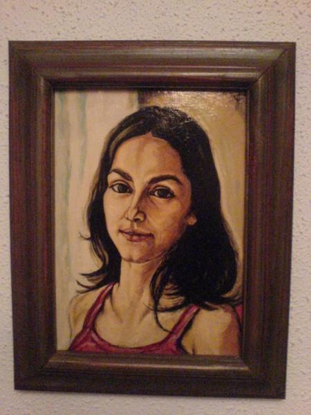 Picturi cu potrete/nuduri Portret7