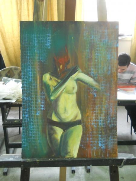 Picturi cu potrete/nuduri Nud feminin