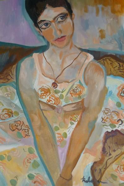 Picturi cu potrete/nuduri Ochi armenesti