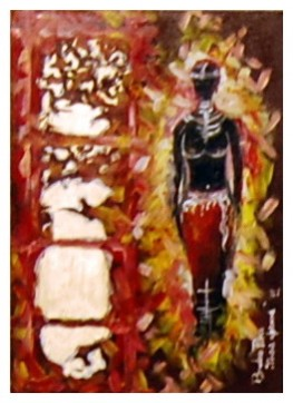 Picturi cu potrete/nuduri Tanara africana