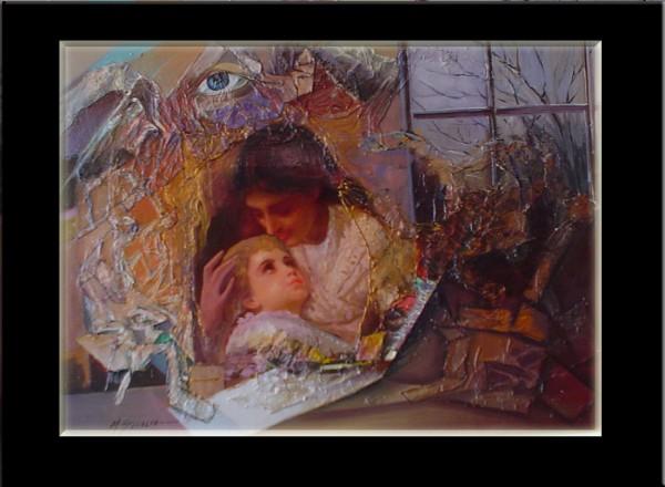 Picturi cu potrete/nuduri Maternitate--183