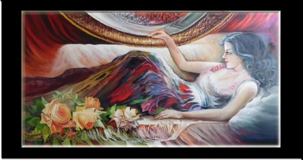 Picturi cu potrete/nuduri Seminud---compozitie