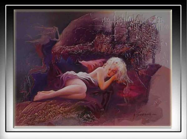 Picturi cu potrete/nuduri Somn invaluit--97