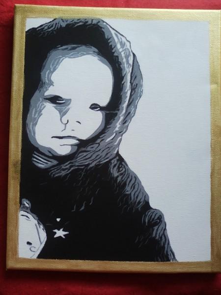 Picturi cu potrete/nuduri Bebe