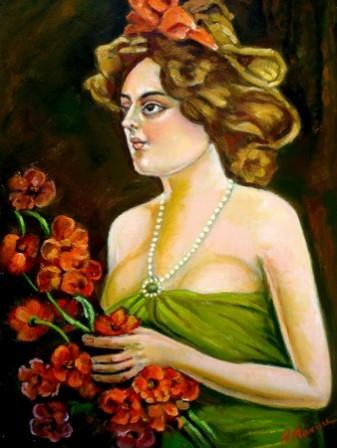 Picturi cu potrete/nuduri Americanca