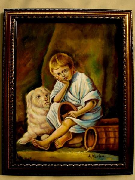 Picturi cu potrete/nuduri Melancolie