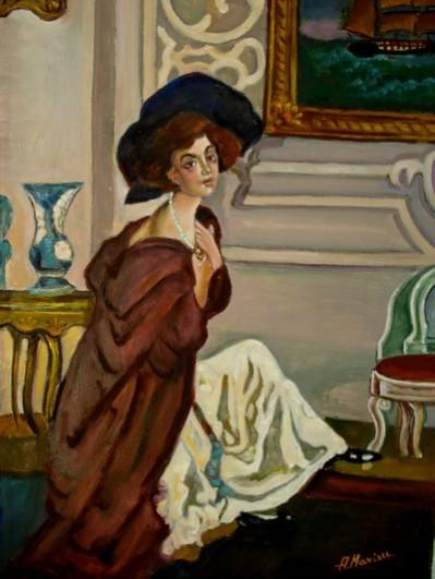 Picturi cu potrete/nuduri Natalia