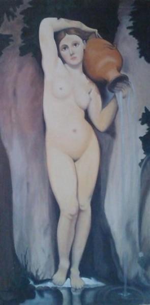 Picturi cu potrete/nuduri Izvorul