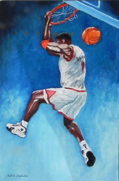 Picturi cu potrete/nuduri Barkley-basket