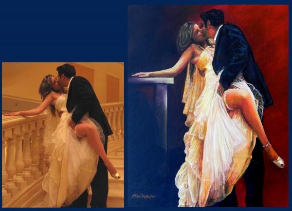 Picturi cu potrete/nuduri Dansatorii