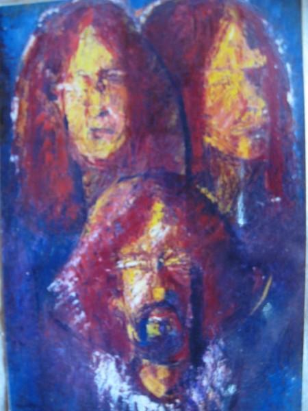 Picturi cu potrete/nuduri Triplu autoportret