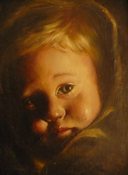 Picturi cu potrete/nuduri Tears