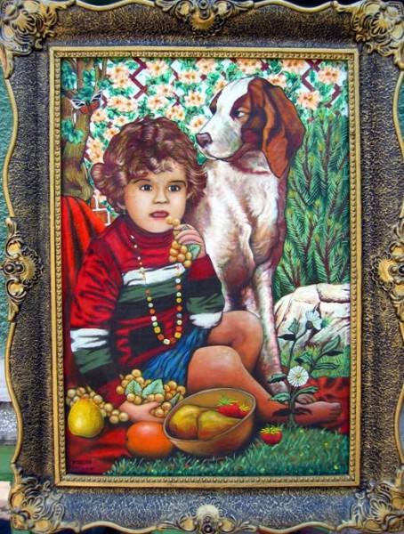 Picturi cu potrete/nuduri Mary