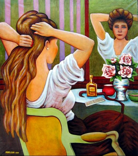 Picturi cu potrete/nuduri Vanity