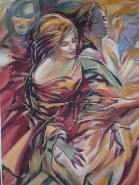 Picturi cu potrete/nuduri Dedublare