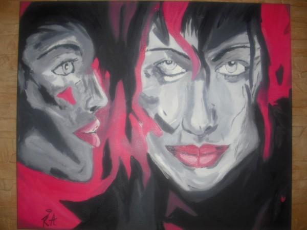 Picturi cu potrete/nuduri Bliss
