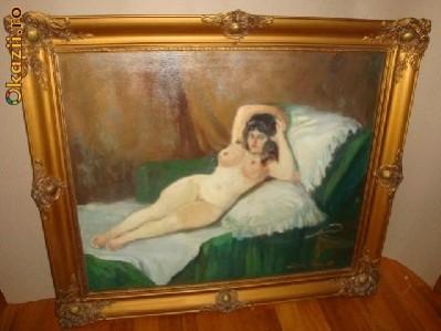 Picturi cu potrete/nuduri Nud zorad