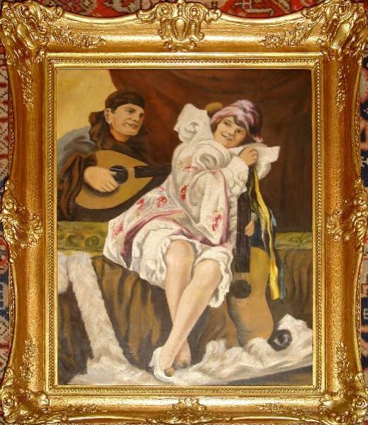 Picturi cu potrete/nuduri Portret gerger richard