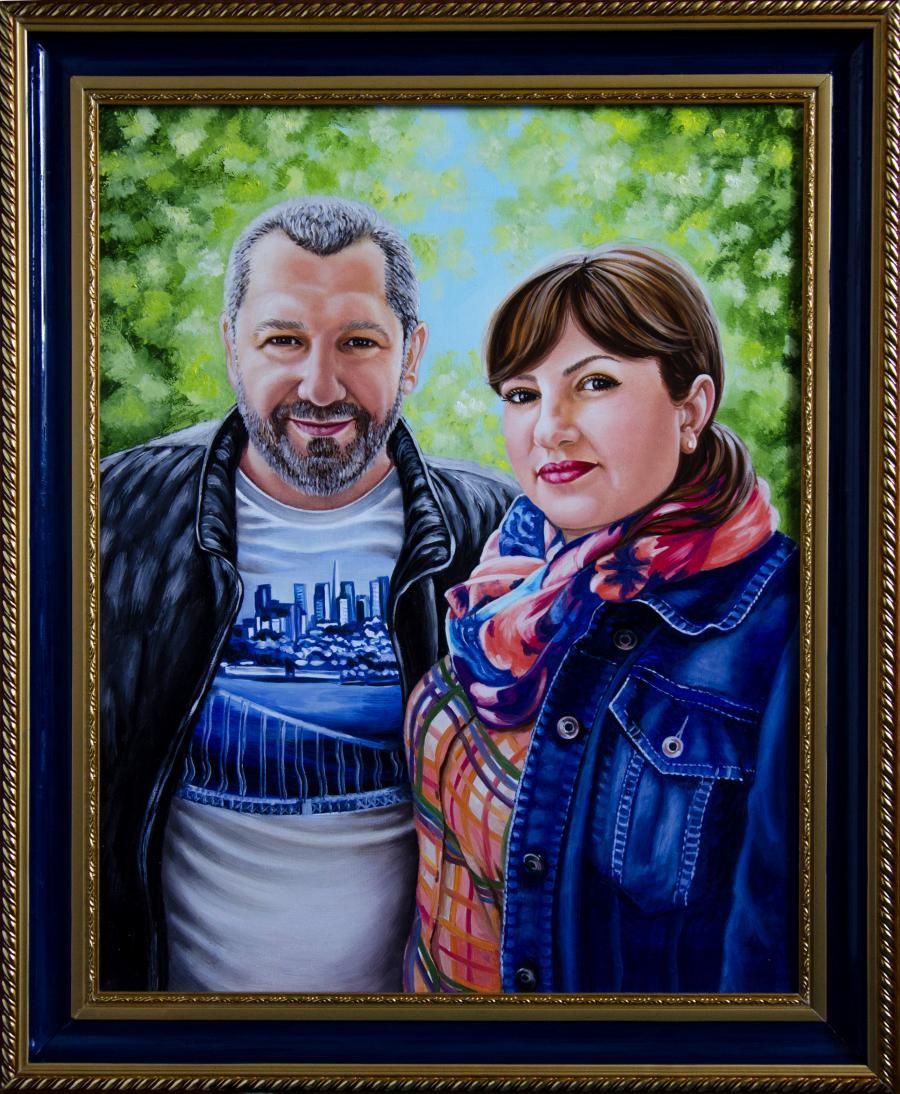 Picturi cu potrete/nuduri Portret de familie 2