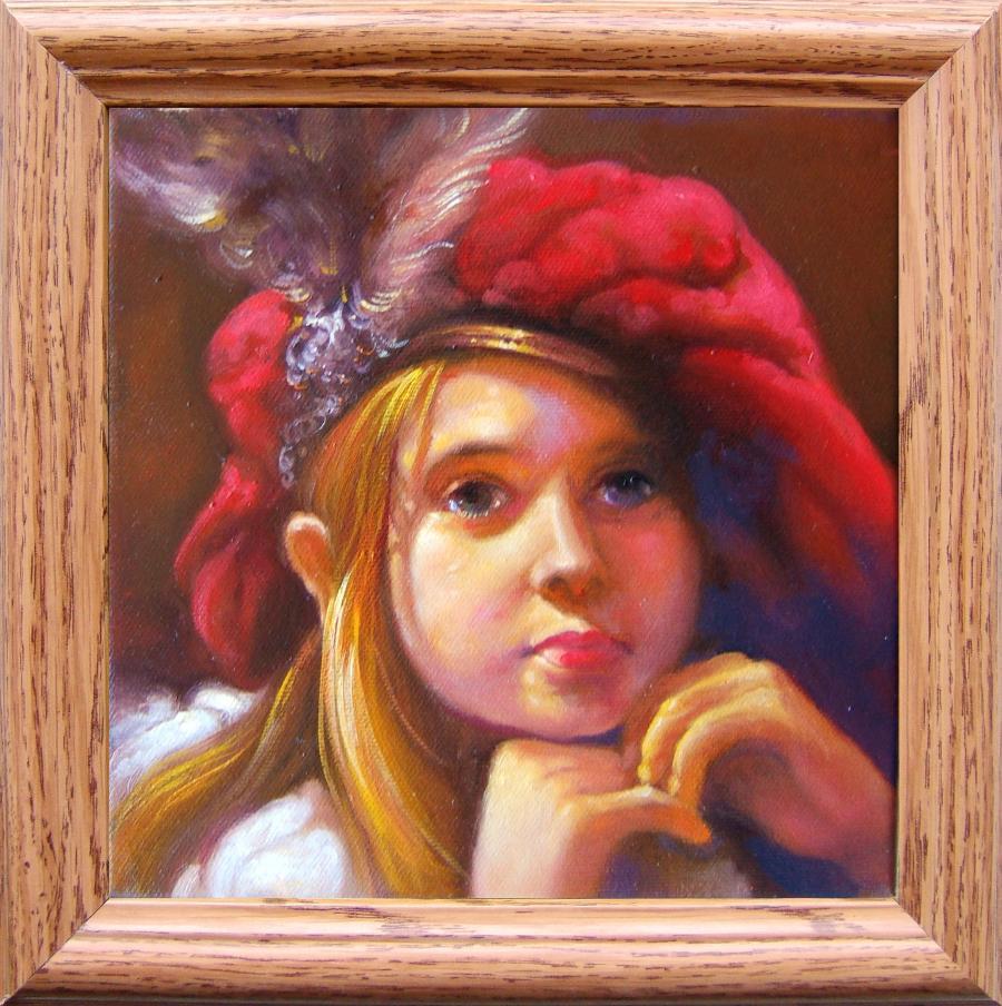 Picturi cu potrete/nuduri copilarie 4