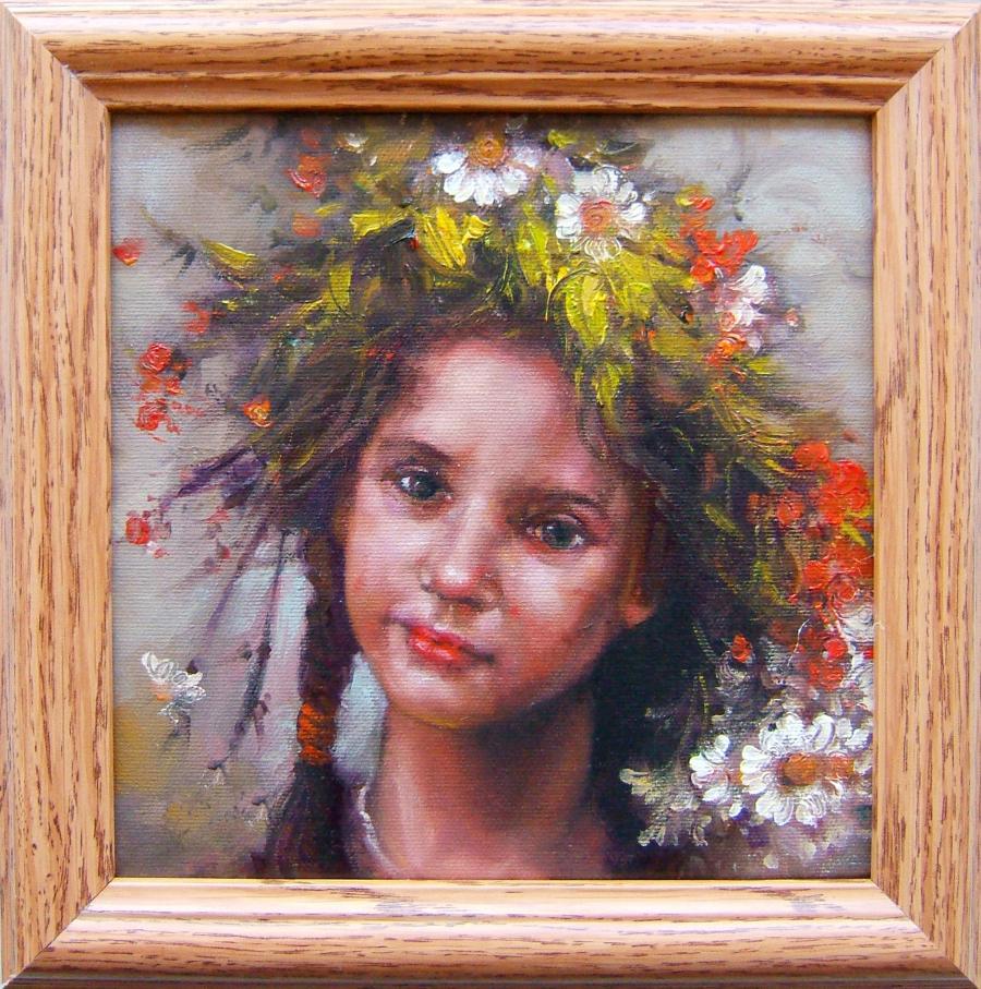 Picturi cu potrete/nuduri copilarie 5
