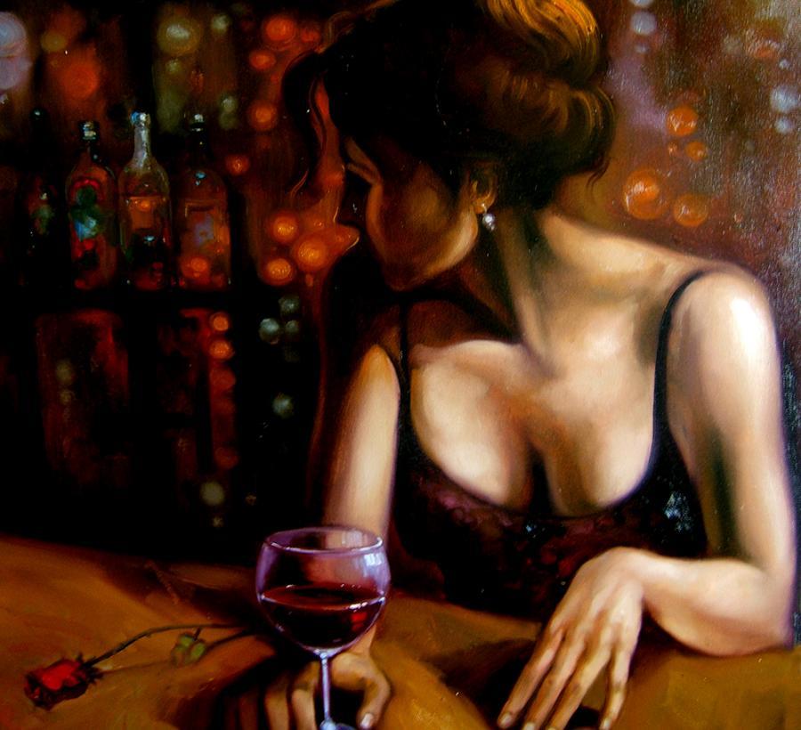 Picturi cu potrete/nuduri glass o winw