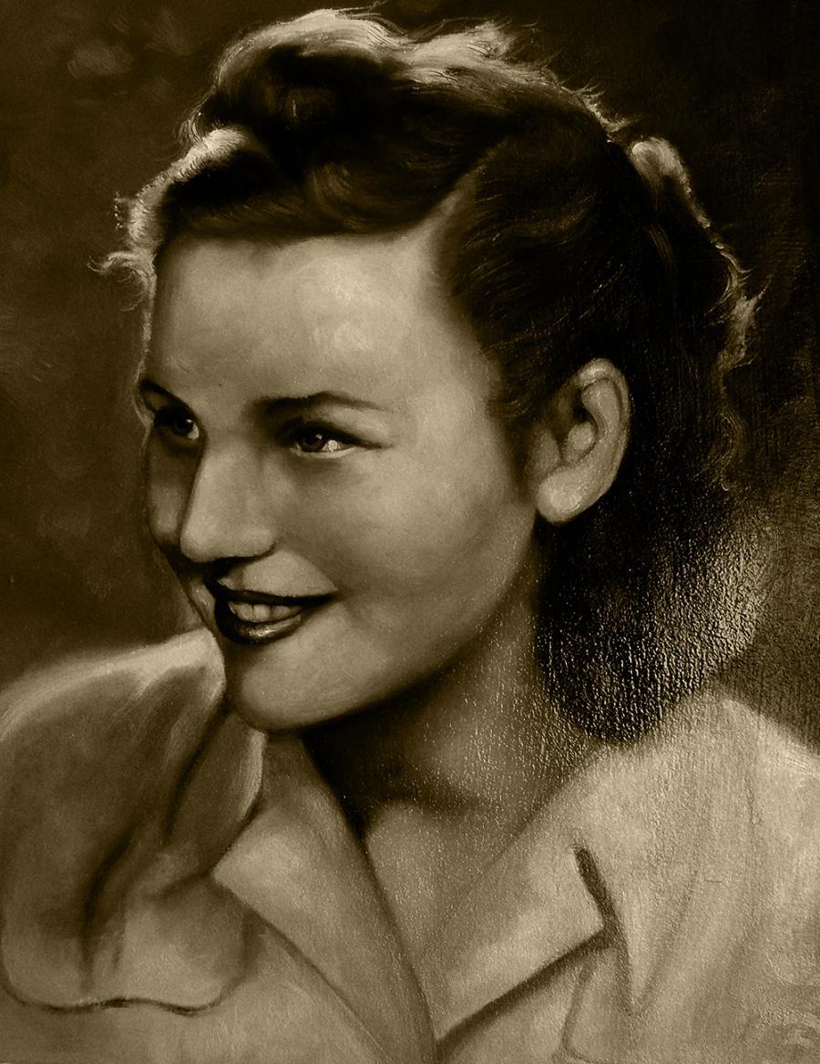 Picturi cu potrete/nuduri vintage portrait