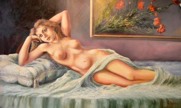 Picturi cu potrete/nuduri Nud 1 Original