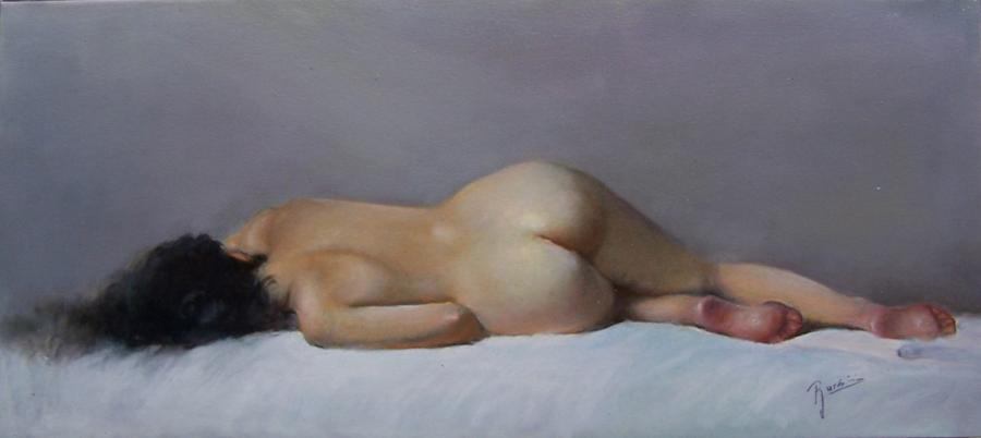 Picturi cu potrete/nuduri Nud 2b