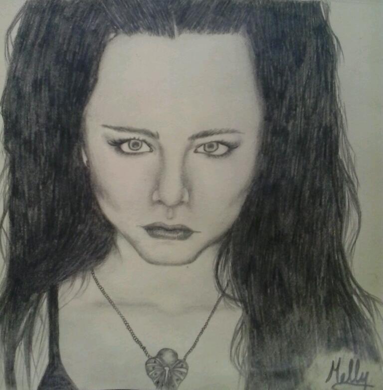 Picturi cu potrete/nuduri Amy Lee - Evanescence