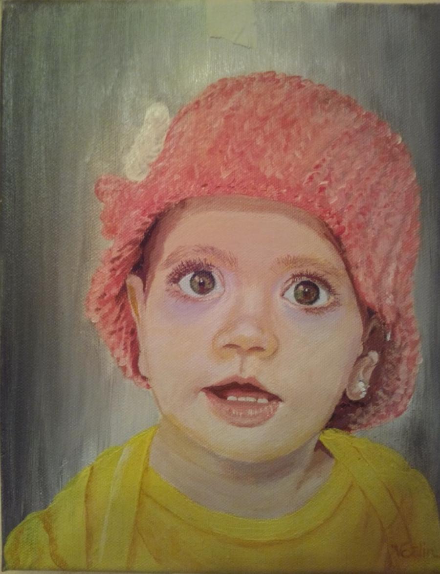 Picturi cu potrete/nuduri portret 014