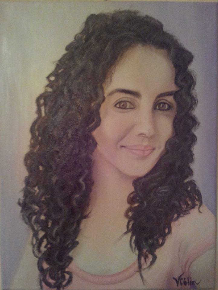 Picturi cu potrete/nuduri portret 019