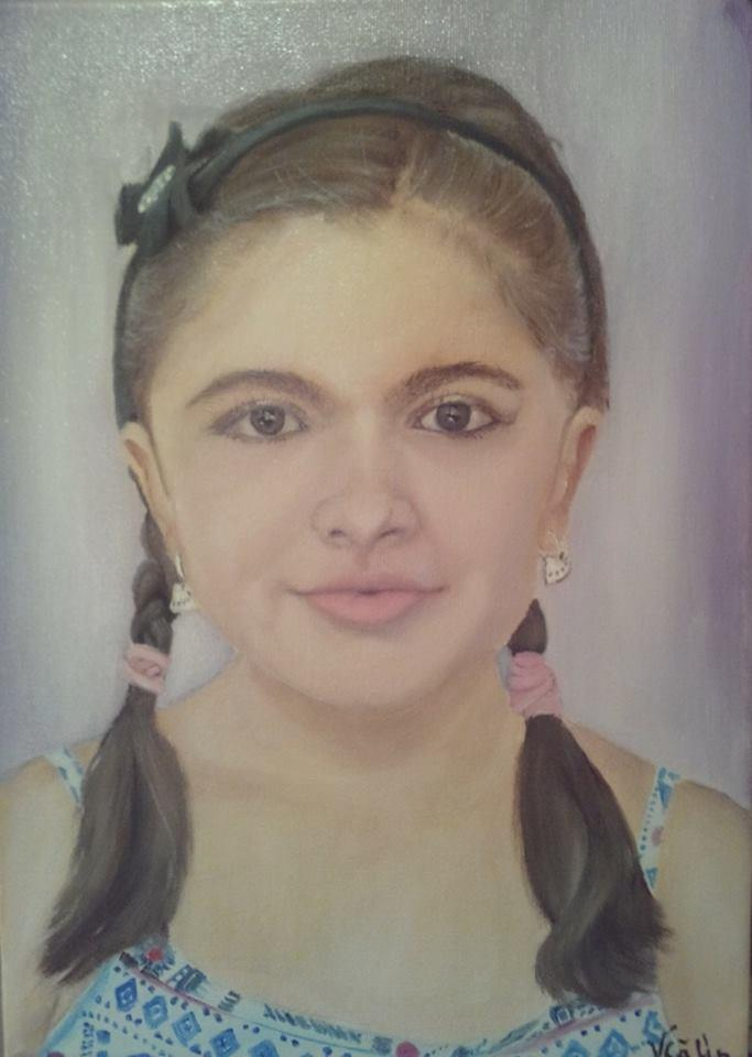 Picturi cu potrete/nuduri portret 023